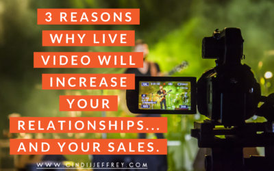 3 reasons why live video will increase your relationships – and your sales